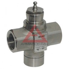 H2050X-S двухходовой клапан DN50 PN25, kvs (м3/ч) = 32, внутренняя резьба, нержавеющая сталь