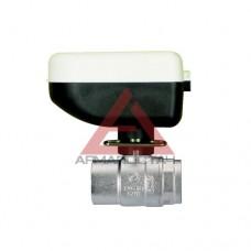 """Кран шаровый двухходовой IVR 220 DN15 (1/2"""") с электроприводом IVR 215 Motorhead 220Вт. (220+215)"""