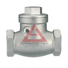 Клапан обратный из нержавеющей стали DN 15 PN16, AISI 316, IVR тип 654