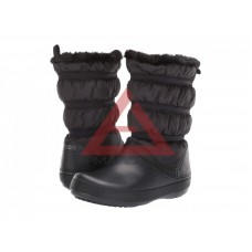 Crocband winter black/black