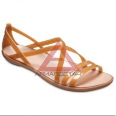 Isabella strappy sandal dark gold/gold
