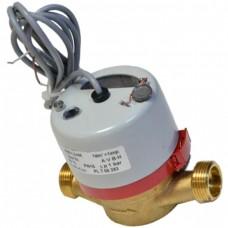 """JS 90-1.6 NK (Ду15) счётчик горячей воды 1/2"""" с импульсным выходом NK, Apator PoWoGaz JS-90-1.6-NK"""
